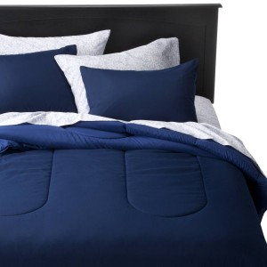 rollout bed solid-blu2